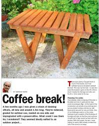 Patio Table Plans Patio Coffee Table Plans U2022 Woodarchivist