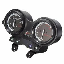 12000rpm motorcycle lcd odometer speedometer for yamaha ybr 125