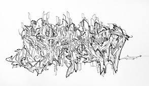 images of alphabet in sketches graffiti sc
