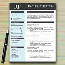 single page resume template professional one page resume template for microsoft word for free