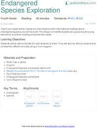lesson plans for fourth grade reading education com