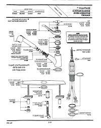 one handle kitchen faucet repair delta single parts problems moen