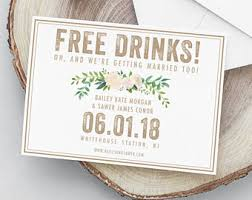 save the date cards cheap rustic save the date etsy