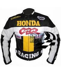 honda cbr motorbike honda cbr motorbike racing yellow black leather suit for men s