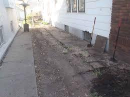 french drain installation exterior drain tile