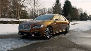 lincoln continental 2017 lincoln continental old luxury comes full circle and