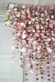 Hanging Flowers 15 Lovely Hanging Flower Backdrop Ideas U2014 The Bohemian Wedding