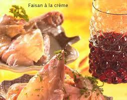 cuisine faisan recette faisan à la crème notre recette faisan à la crème