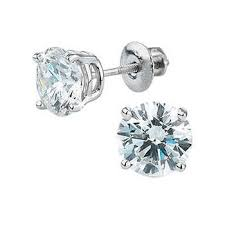 diamond earring studs diamond studs costco