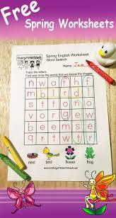 Homeschool Kindergarten Worksheets 26 Best Spring Worksheets Images On Pinterest Kindergarten