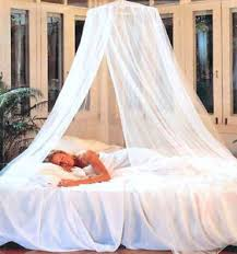Princess Bed Canopy Dreamma Elegant White Round Bed Canopy Net Mosquito Repeller Gauze