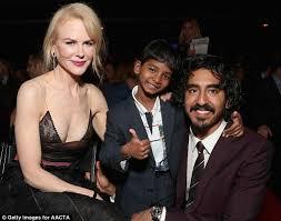 Patel Meme - nicole kidman reunites with dev patel and sunny pawar at