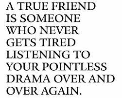 True Friend Meme - advice