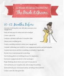 simple wedding planning wedding checklist 10 12 months the mba