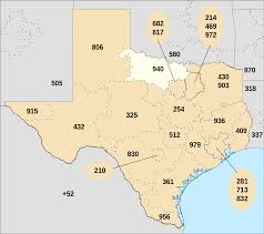 map of area codes area code 940