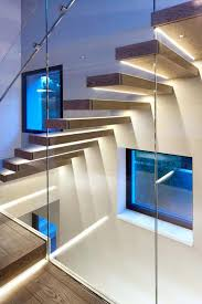 marvelous cool basement stairway lighting home decor interior