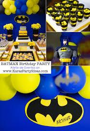 batman birthday party ideas kara s party ideas batman boy 3rd birthday party