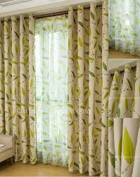 Green Colour Curtains Ideas Living Room Awesome Green Decorating Ideas With Curtains For