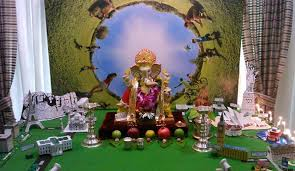 Themes For Home Decor Ganpati Decoration Ideas At Home Ganesh Pooja Decoration Pooja