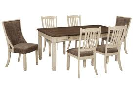 Dining Room Sets 4 Chairs by Bolanburg Dining Table With 2 Host Chairs U0026 4 Side Chairs