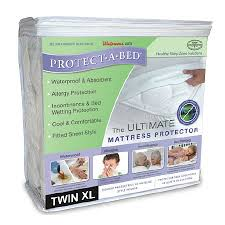 protect a bed ultimate mattress protector walgreens