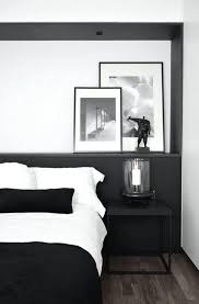 bedroom stylish black and white bedroom decor with big closet low