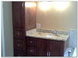 Bathroom Vanities And Linen Cabinet Sets Bathroom Vanities With Linen Cabinet Cherry Built Master Bathroom