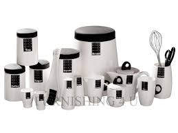 black kitchen canister sets tag black white kitchen ceramic storage canisters jars set tea