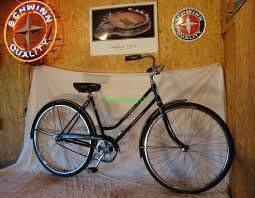 1965 schwinn breeze ladies road cruiser bike vintage black bicycle