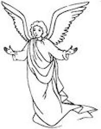 angel color pages coloring pages mary and angel coloring home