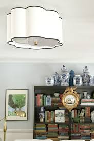 Wall Mount Chandelier Flush Mount Lighting In The Living Room Emily A Clark