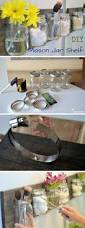 Diy Bathroom Decor by Best 25 Mason Jar Shelf Ideas On Pinterest Teen Room