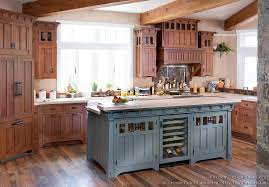furniture style kitchen island craftsman kitchen design ideas and photo gallery