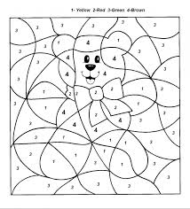 innovational ideas number coloring pages kids colour