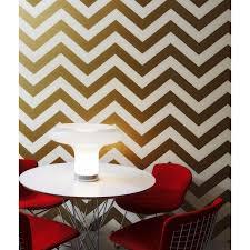 tempaper wallpaper wall decor chic zee gold tempaper wallpaper in chevron design for