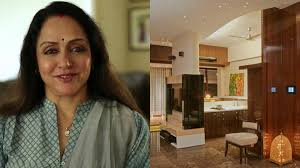 celebrity homes bollywood actress hema malini home youtube