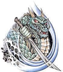 coloured dragon tattoo design img13 best screen wallpaper
