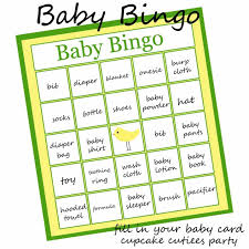 rules baby shower bingo template word image savvy deets bridal
