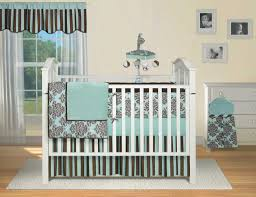 Brown Baby Crib Bedding Blue And Brown Baby Crib Bedding Sets Bedroom Unique Nursery