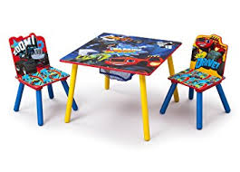 amazon childrens table and chairs amazon com delta children table and chair set with storage nick jr