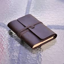 refillable leather journal handmade vintage leather sketchbook