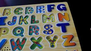 doug melissa u0026 doug alphabet sound puzzle youtube