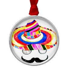 mexican symbols ornaments keepsake ornaments zazzle