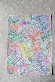 using coloring pages for another craft leisure arts blog