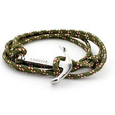 anchor wrap bracelet images Nautic bracelets women men silver anchor bracelet sea anchor hook jpg
