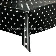 red white polka dot table covers red white polka dot tablecloth empty table covered with red polka
