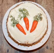 cake top carrot cake with cheese frosting vegan theveglife