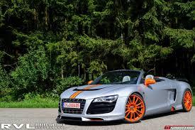 Audi R8 Grey - photoshoot mtm audi r8 v10 spyder gtspirit