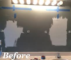 how to replace a hollywood light with 2 vanity lights u0026 how to