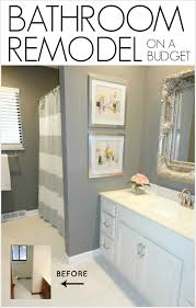 Bathroom Decor Ideas On A Budget Livelovediy Diy Bathroom Remodel On A Budget